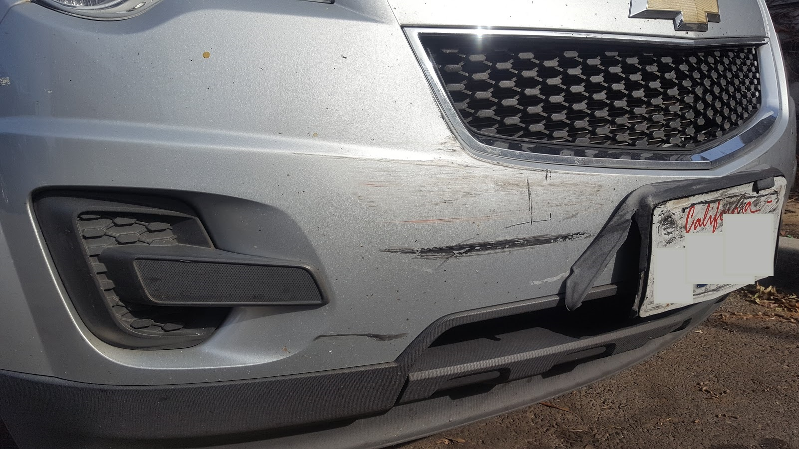 Special One Day Bumper Repairs